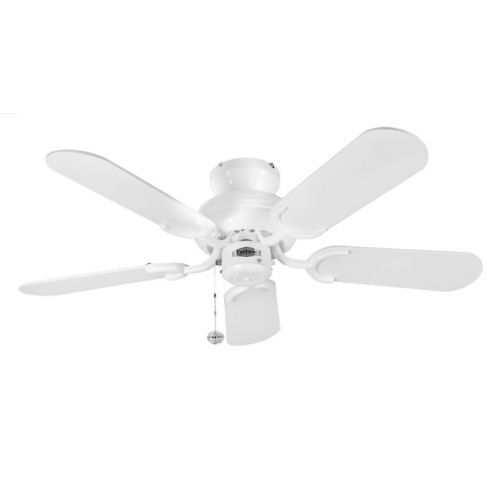 Capri 36inch Ceiling Fan without Light White