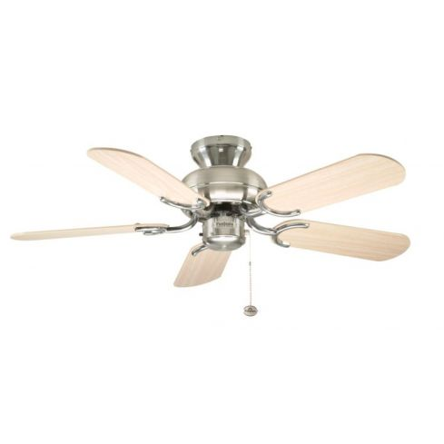 Capri 36inch Ceiling Fan without Light Stainless Steel