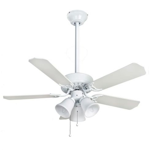 Belaire Combi 42inch Ceiling Fan with Light White