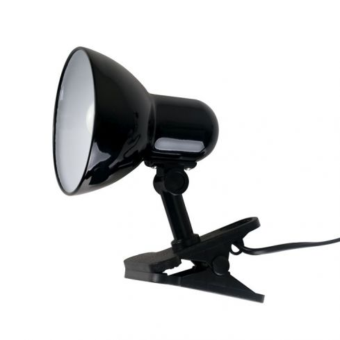 Tasca Black Clip On Spot Lamp