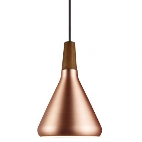 Nori 18 Pendant Ceiling Light Copper