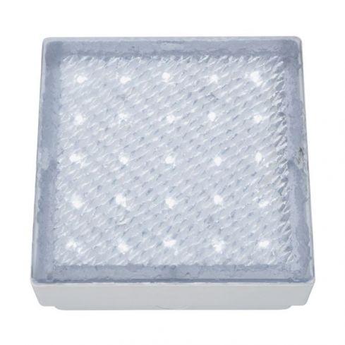 25 LED Recessed Square Walkover White Light
