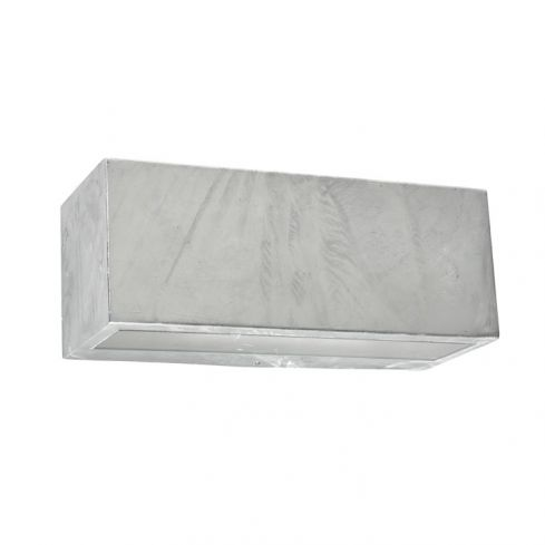 Asker Large Up/Down Wall Light Galvanized