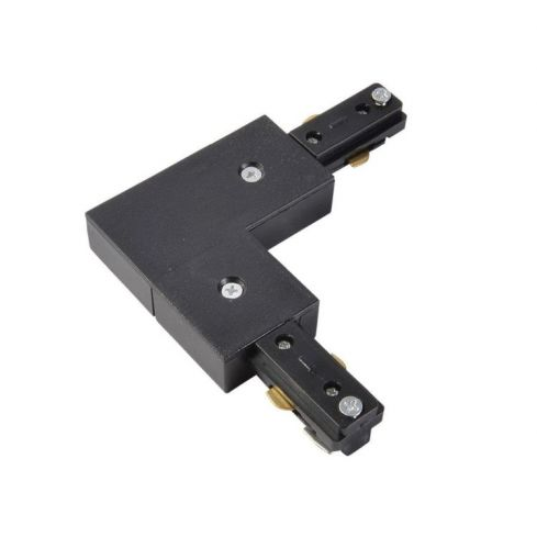 Tor Single Circuit Track L Connector Black