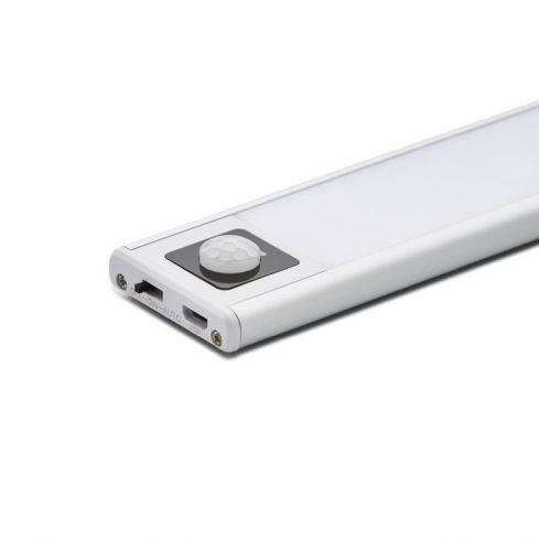 864mm Slim Rechargeable Cabinet Light