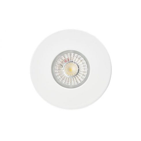 CWFRC004 GU10 Fire rated downlight, Fixed, IP65, White