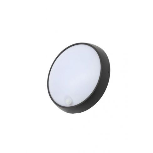 Cano Round Bulkhead with PIR in Black Finish