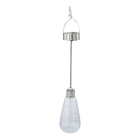 SOLAR Outdoor Solar Clip-on Hanging Light Stainless Steel
