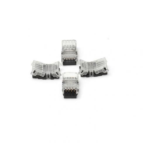 6pin Solder free Strip to Wire Live End 12mm LED Strip/Tape
