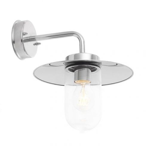 Addison Wall Light Stainless Steel