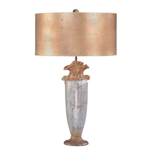 Bienville Table Lamp Silver/Gold