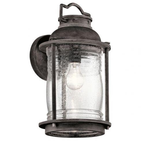 Ashlandbay 1-Light Outdoor Large Wall Lantern