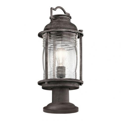 Ashlandbay 1-Light Outdoor Medium Pedestal Lantern