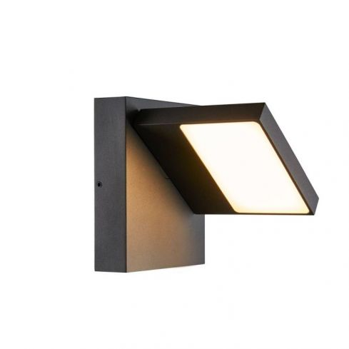 ABRIDOR Outdoor LED surface-mounted wall light IP55 anthracite 3000/4000K