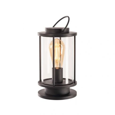 PHOTONIA Table Lamp with plug anthracite