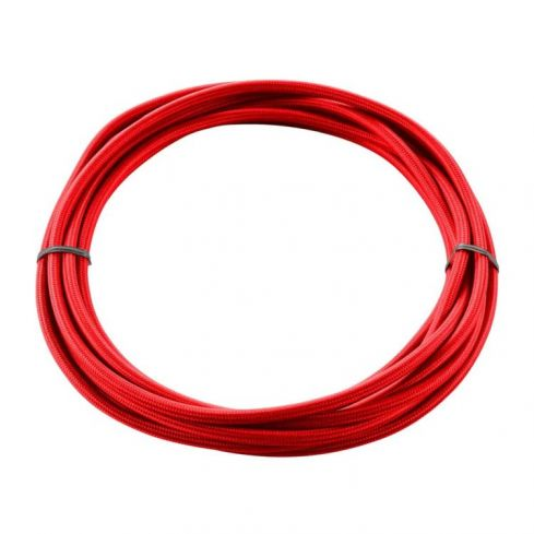 TEXTILE CABLE, 3-pole, 5 m, red