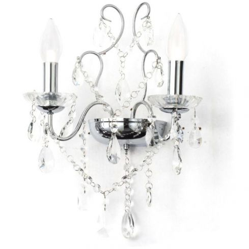 Annalee Wall Light in Chrome Finish
