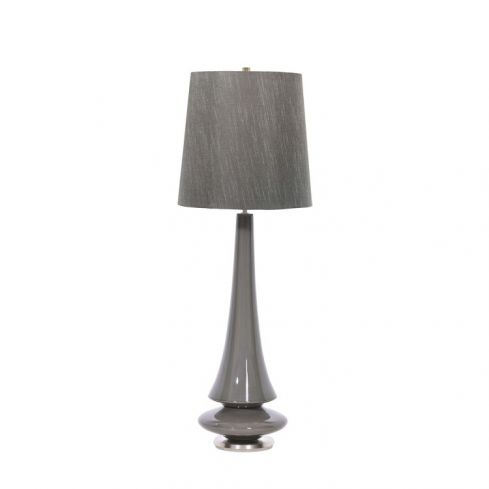 Spin 1-Light Table Lamp - Grey