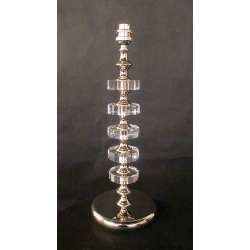 Boston D Table Lamp Nickel