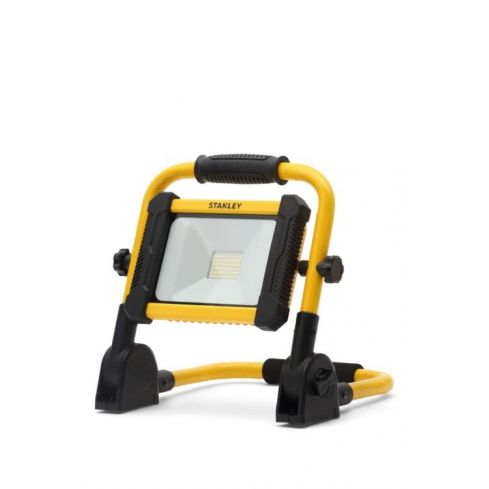 18w LED Rechargeable Folding Worklight Yellow/Black